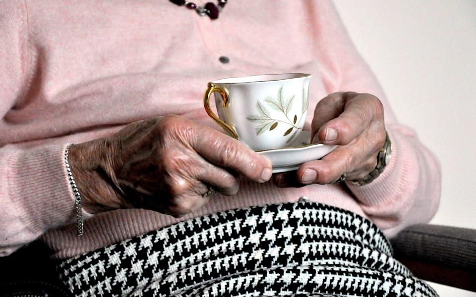 Hands of anelderly woman - Kirsty O'Connor/PA