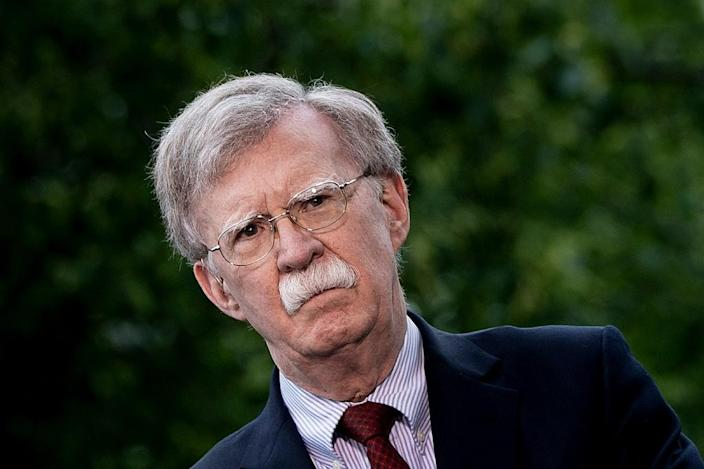 US National Security Advisor John Bolton will meet with Israeli Prime Minister Benjamin Netanyahu, followed by talks with his Israeli and Russian counterparts (AFP Photo/Brendan Smialowski)