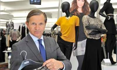 M&S Boss Marc Bolland Takes 26% Pay Cut