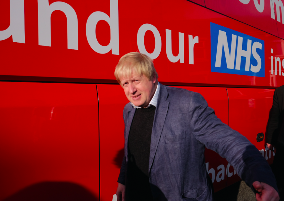 <em>Mr Johnson is accused of endorsing claims he knew were knowingly false and made with the intention to sway votes (Getty)</em>