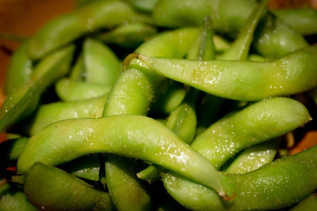 <p>These beans (from which tofu and soya milk are made) are rich in folate, a vitamin that supports nervous system function. Top up, since sub-par levels of it are linked to low moods.</p>