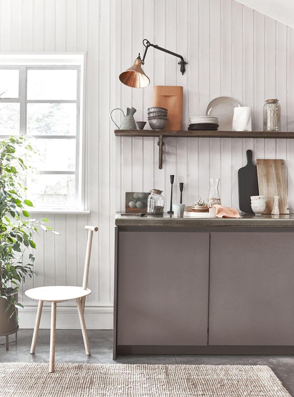 """<p>Restraint, functionality and craft are all pillars of both Japanese and Scandi design, and there's no better place to express this ethos than in the <a href=""""https://www.housebeautiful.com/uk/decorate/kitchen/g423/best-kitchen-design-trends/"""" rel=""""nofollow noopener"""" target=""""_blank"""" data-ylk=""""slk:kitchen"""" class=""""link rapid-noclick-resp"""">kitchen</a>.</p>"""
