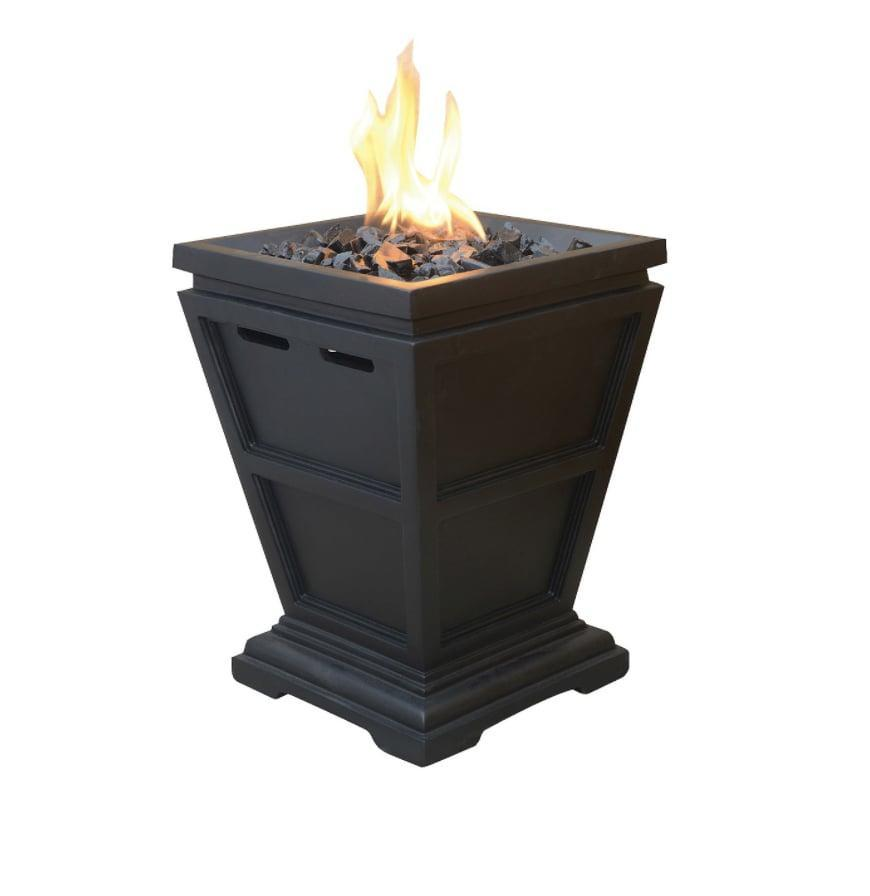 <p>If you have a large outdoor space, we suggest getting two of these <span>Endless Summer Gas Fire Columns</span> ($90) to keep you extra toasty.</p>