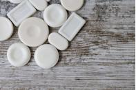 """<p>They're actually no better than """"regular"""" soap. A study published in the <em><a href=""""http://jac.oxfordjournals.org/content/early/2015/09/14/jac.dkv275.short?rss=1"""" rel=""""nofollow noopener"""" target=""""_blank"""" data-ylk=""""slk:Journal of Antimicrobial Chemotherapy"""" class=""""link rapid-noclick-resp"""">Journal of Antimicrobial Chemotherapy</a> </em>pitted regular and antibacterial soaps against 20 strains of bacteria, and found that there was no significant difference between the two. <br></p>"""