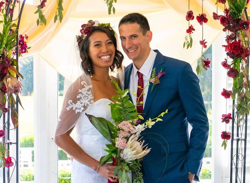Saiyidah Aisyah married American Ross Zuckerman in October this year. (PHOTO: Courtesy of Saiyidah Aisyah)