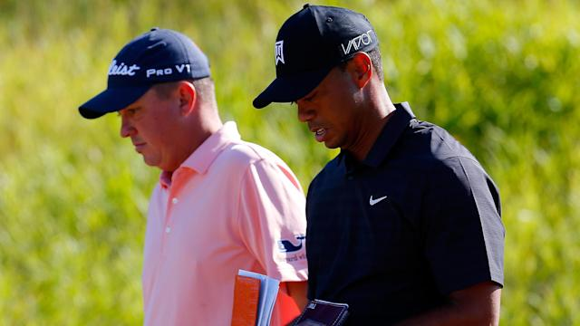 Tiger Woods will play alongside Jason Dufner in the third round of the Honda Classic. They'll go off at 12:10 p.m. ET Saturday.