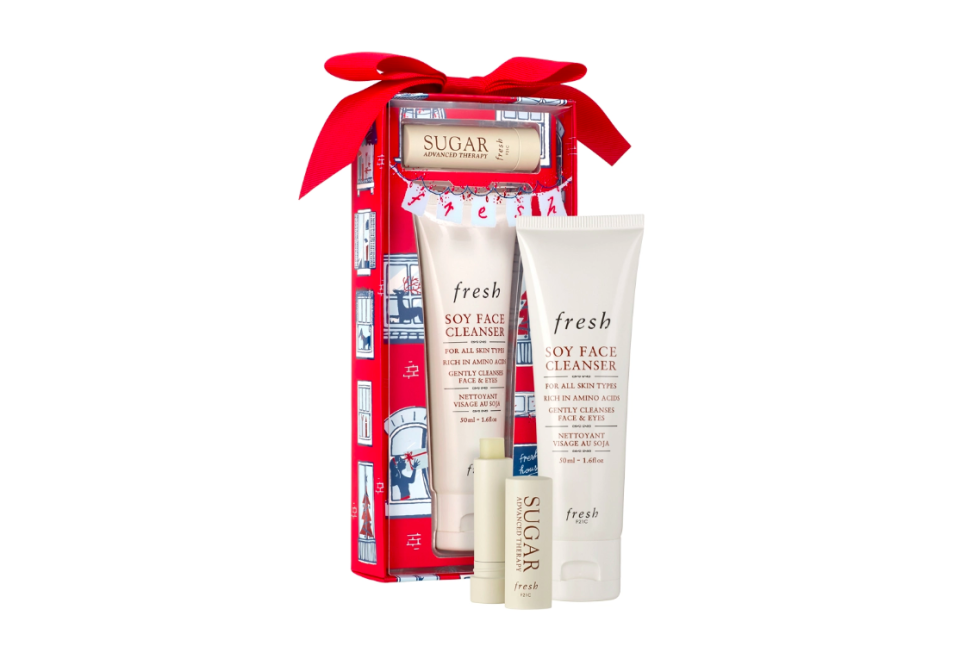 FRESH: Enchanted Essentials Soy Face Cleanser and Sugar Lip Treatment 禮盒裝 HKD $180