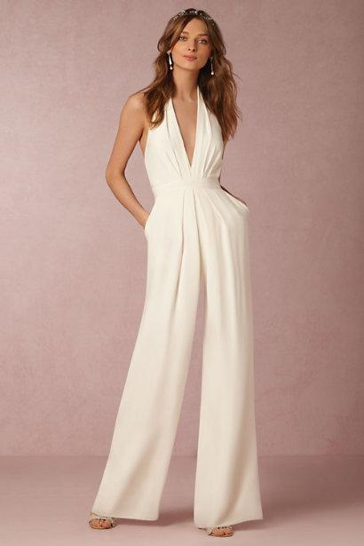 11 Chic And Affordable Wedding Jumpsuits Because Yes You Can Wear
