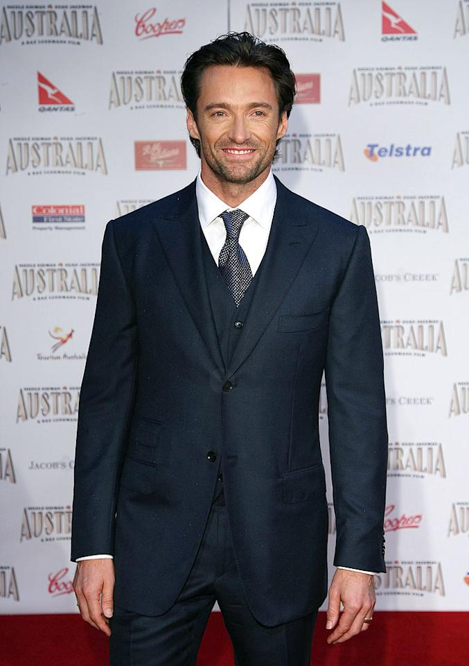 "Fellow Aussie Hugh Jackman was named People's ""Sexiest Man Alive"" on Wednesday. Kristian Dowling/<a href=""http://www.wireimage.com"" target=""new"">WireImage.com</a> - November 18, 2008"