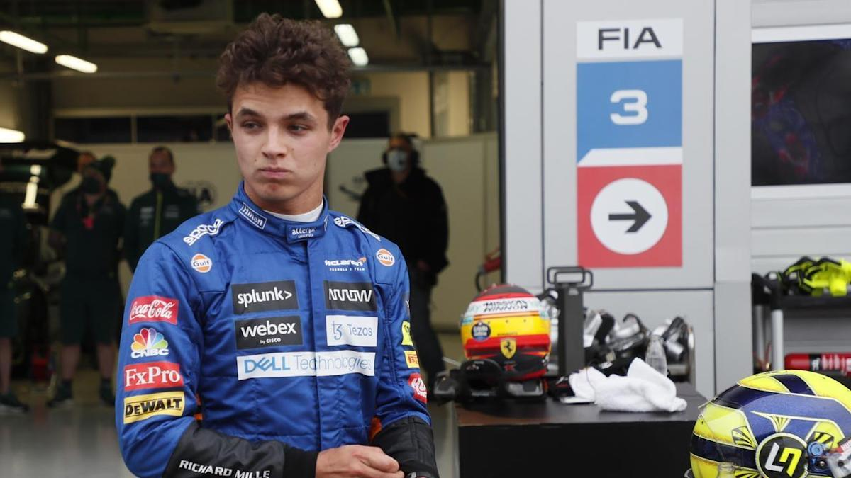 Norris takes shock pole at the Russian GP