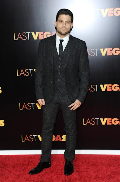 """Actor Jerry Ferrara attends the premiere of """"Last Vegas"""" at the Ziegfeld Theatre on Tuesday, Oct. 29, 2013, in New York. (Photo by Evan Agostini/Invision/AP)"""