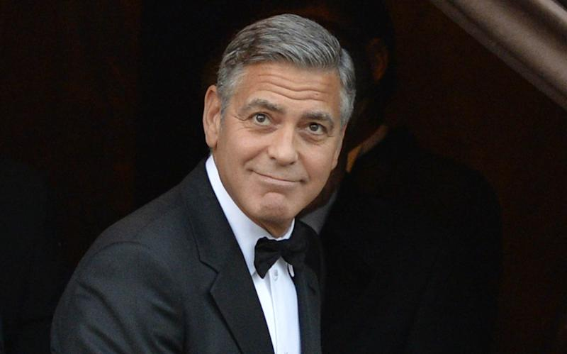 George Clooney, the poster boy for over 50s gentlemanly style - This content is subject to copyright.