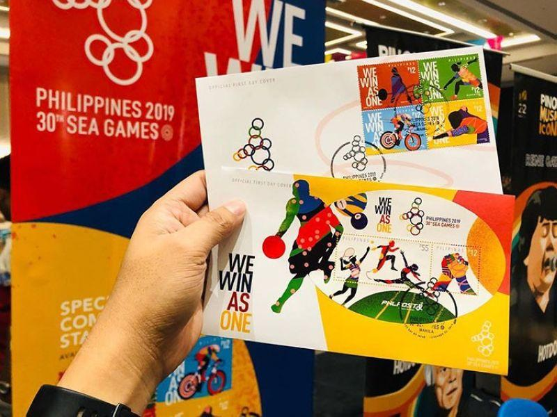 PHLPost launches special SEA Games stamps