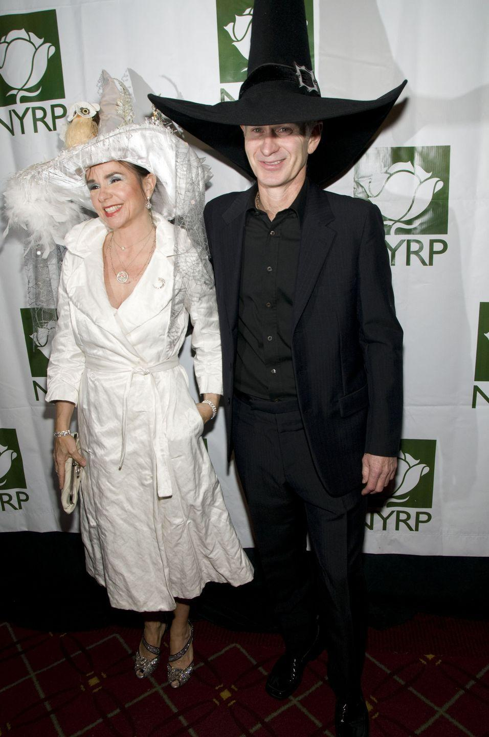 <p>Did you know Bette Midler throws a Halloween benefit called Hulaween (with the New York Restoration Project)? In 2008, Patty Smyth and husband John McEnroe arrived dressed as witches—her a good witch, him a bad one. (Interesting...)</p>