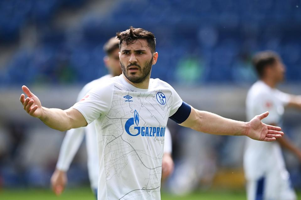<p>Sead Kolasinac was expected to stay at Schalke beyond his loan spell from Arsenal</p> (Getty Images)