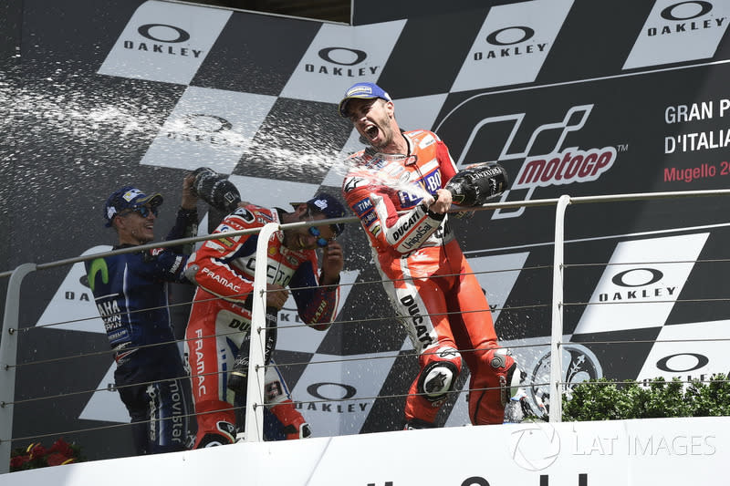 """Andrea Dovizioso<span class=""""copyright"""">Gold and Goose / Motorsport Images</span>"""