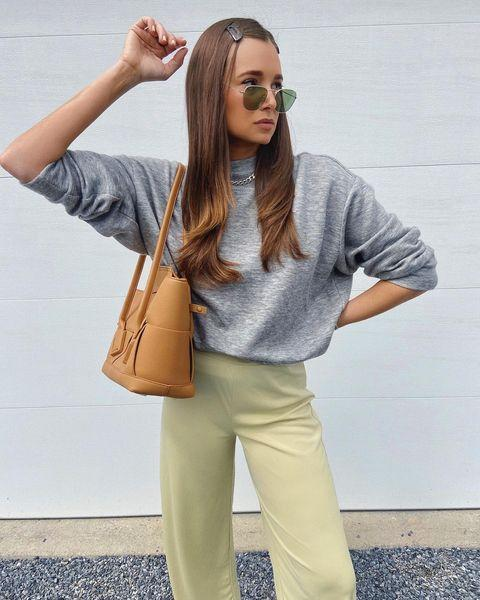 """<p>For the coolest and comfiest ways to style your loungewear, check out Danielle Bernstein's Instagram account. She is the sweatsuit goddess we should all be following. </p><p><strong><br></strong><strong>What you'll need: </strong><em>The Lightweight French Terry Crew, $38, Everlane</em></p><p><a class=""""link rapid-noclick-resp"""" href=""""https://go.redirectingat.com?id=74968X1596630&url=https%3A%2F%2Fwww.everlane.com%2Fproducts%2Fwomens-ltweight-frenchterry-crew-hthrgrey%3Flocale%3DUS&sref=https%3A%2F%2Fwww.seventeen.com%2Ffashion%2Fstyle-advice%2Fg708%2Fcute-jogger-sweatpants%2F"""" rel=""""nofollow noopener"""" target=""""_blank"""" data-ylk=""""slk:SHOP NOW"""">SHOP NOW</a></p><p><a href=""""https://www.instagram.com/p/B--Gz9IJTDc/"""" rel=""""nofollow noopener"""" target=""""_blank"""" data-ylk=""""slk:See the original post on Instagram"""" class=""""link rapid-noclick-resp"""">See the original post on Instagram</a></p>"""