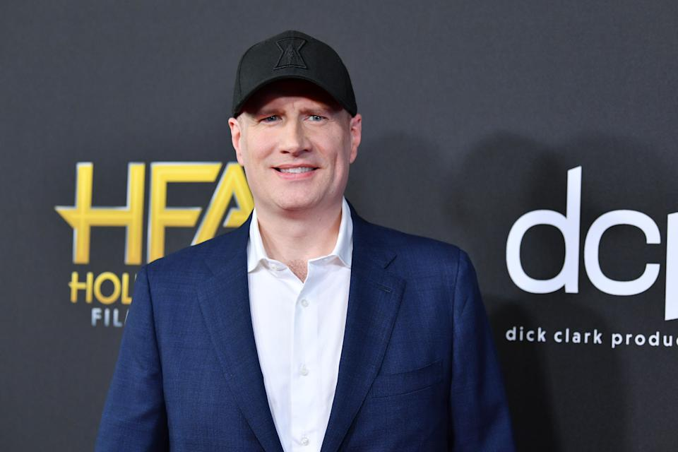 BEVERLY HILLS, CALIFORNIA - NOVEMBER 03: Kevin Feige attends the 23rd Annual Hollywood Film Awards at The Beverly Hilton Hotel on November 03, 2019 in Beverly Hills, California. (Photo by Amy Sussman/FilmMagic)