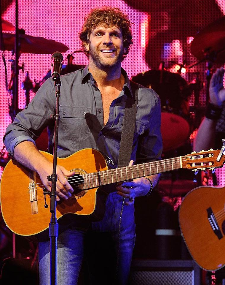 """The ladies love shaggy-haired singer Billy Currington and his toned physique ... no matter what he's wearing! Frederick Breedon IV/<a href=""""http://www.gettyimages.com/"""" target=""""new"""">GettyImages.com</a> - October 5, 2010"""