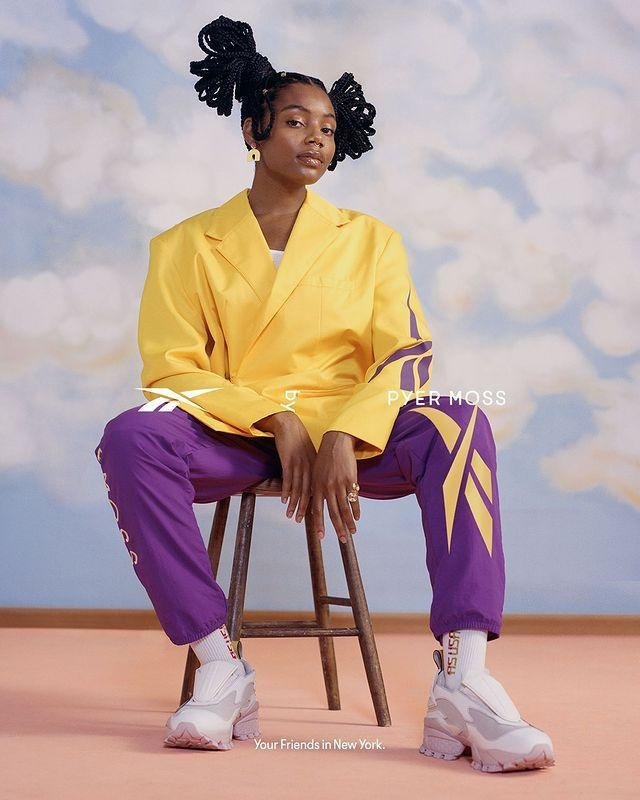 """<p>Ever-cool brand Pyer Moss, brings super edgy retro energy into every look. Just be sure to shop right away because their new pieces sell out fast.</p><p><a class=""""link rapid-noclick-resp"""" href=""""http://pyermoss.com/"""" rel=""""nofollow noopener"""" target=""""_blank"""" data-ylk=""""slk:SHOP NOW"""">SHOP NOW</a></p><p><a href=""""https://www.instagram.com/p/CGiymhmjQYm/"""" rel=""""nofollow noopener"""" target=""""_blank"""" data-ylk=""""slk:See the original post on Instagram"""" class=""""link rapid-noclick-resp"""">See the original post on Instagram</a></p>"""