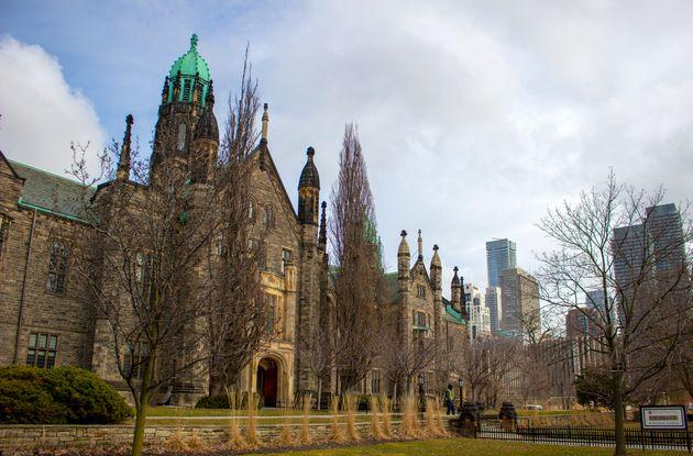 Trinity College at the University of Toronto in Toronto, Ont.