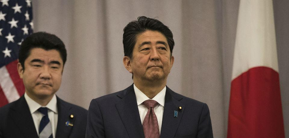 Japanese Prime Minister Abe is in Washington to see what, if anything, will replace the Trans Pacific Partnership.