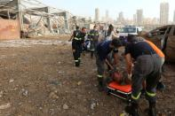 A Picture and its Story: Capturing a Beirut rescue