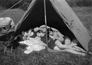 <p>Something tells me no other tents were built that day...</p>