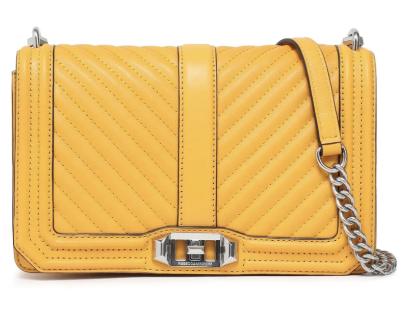 Rebecca Minkoff Quilted leather shoulder bag. (PHOTO: The Outnet)