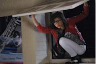 <p>Zendaya made her film debut in Disney's TV movie <em>Frenemies</em>, where she plays a young magazine editor dueling with her best friend, opposite Bella Thorne.</p>