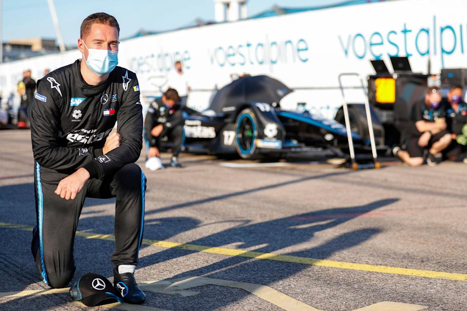 Stoffel Vandoorne hopes to banish his F1 frustration by winning Mercedes's first Formula E championship (Getty)