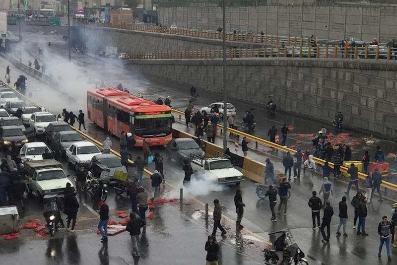 Citing 'credible reports', Amnesty International says more than 100 killed in Iran protests