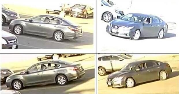 Police believe he was in a four-door grey 2016-2018 Nissan Altima, with another man described as white, bald, wearing a blue sweater, dark pants and dark shoes.