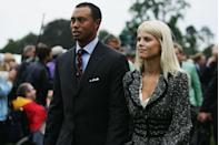 "<p>The golden boy of golf quickly became the worldwide face of adultery when <a href=""https://sports.yahoo.com/golf/blog/devil_ball_golf/post/The-complete-Tiger-Woods-timeline-from-Escalade?urn=golf,264574"" data-ylk=""slk:the National Enquirer revealed"" class=""link rapid-noclick-resp"">the <em>National Enquirer</em> revealed</a> in November of 2009 that he'd been cheating on his wife with a night club hostess. After <em>Us Weekly </em>identified a cocktail waitress as another mistress, <a href=""https://www.si.com/golf/2017/05/29/tiger-woods-arrested-dui-troubles-timeline"" rel=""nofollow noopener"" target=""_blank"" data-ylk=""slk:Woods apologized"" class=""link rapid-noclick-resp"">Woods apologized</a> and said he had ""let his family down."" The number of <a href=""http://nypost.com/2013/11/24/the-night-tiger-woods-was-exposed-as-a-serial-cheater/"" rel=""nofollow noopener"" target=""_blank"" data-ylk=""slk:revealed mistresses"" class=""link rapid-noclick-resp"">revealed mistresses</a> soon rose to 14, and Woods checked himself into rehab for sex addiction in December, creating everyone's new favorite punch line.</p>"
