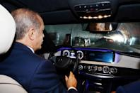 Erdogan opens first road tunnel under Istanbul's Bosphorus