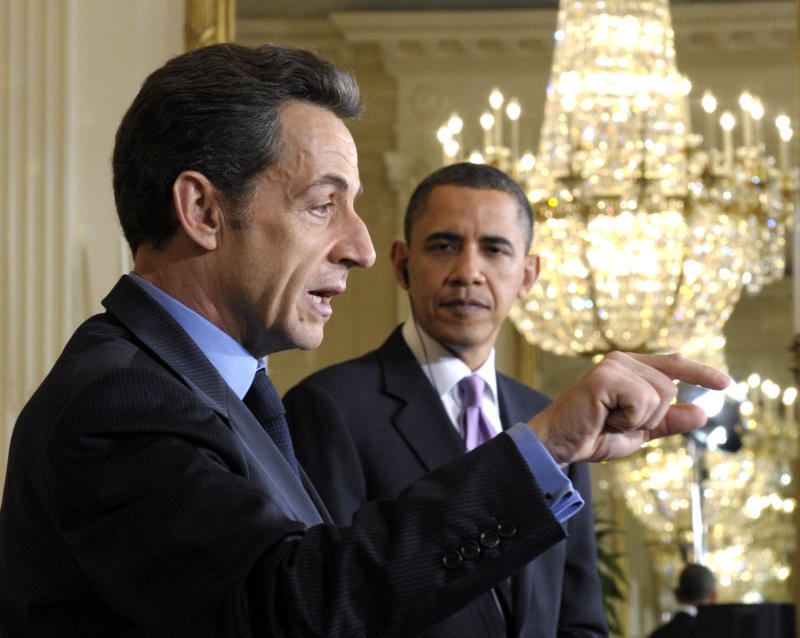 Ex-French president top gift giver to Obama family