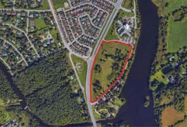 A screenshot of the site of the Ottawa Police South Campus.