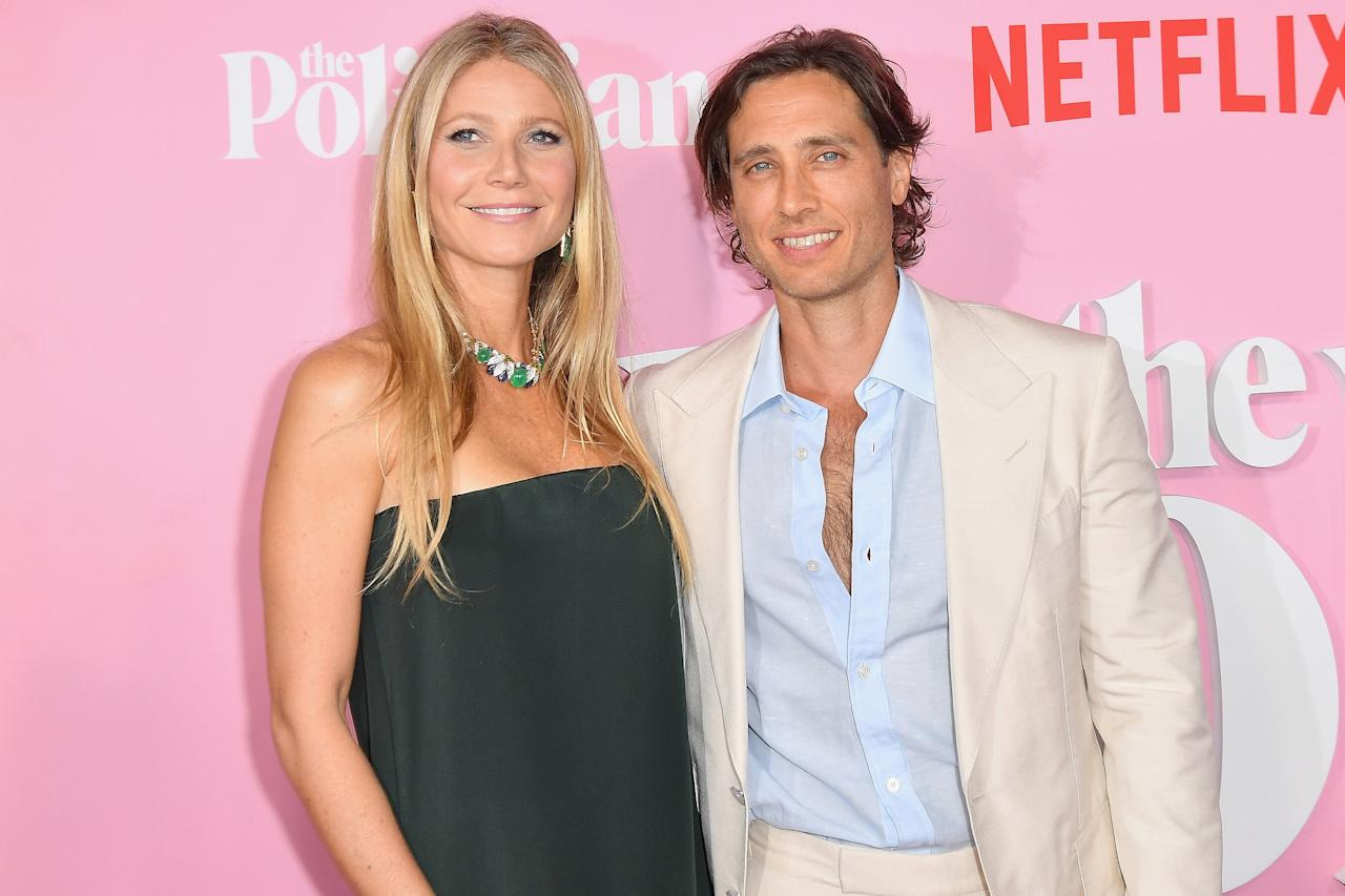 """It took one year of marriage before the <em>Goop</em>founder <a href=""""https://people.com/movies/gwyneth-paltrow-gave-kids-space-before-moving-in-with-brad-falchuk/"""">moved in with her husband</a>, but she had her reasons. In a profile in<em><a href=""""https://www.thetimes.co.uk/edition/news/sinking-into-despair-dirty-dishes-keep-gwyneth-paltrow-awake-hfd7fkfzp?&wgu=270525_54264_15707370834112_57b9389339&wgexpiry=1578513083&utm_source=planit&utm_medium=affiliate&utm_content=22278"""">The Sunday Times</a></em>it was revealed that Falchuk """"spends three nights a week at his own house and four nights at Paltrow's Los Angeles home, an arrangement approved by her intimacy teacher as a means of keeping the relationship fresh.""""  Paltrow also <a href=""""https://people.com/movies/gwyneth-paltrow-gave-kids-space-before-moving-in-with-brad-falchuk/"""">told Jimmy Kimmel in an interview</a> that their kids played a role in the decision. """"I think, really, because we each have two teenage children whom we love very much, but we were just trying to be mindful and give them a little space and not move too quickly,"""" she said.  Paltrow added that her friends were actually envious of their arrangement: """"Oh, all my married friends say that the way we live sounds ideal and we shouldn't change a thing."""""""