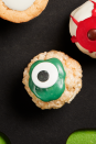 """<p>Take your rice cereal treats to the most Halloween of levels with these fun and comedically spooky eyeball treats. </p><p><strong><em>Get the recipe at <a href=""""https://www.thepioneerwoman.com/food-cooking/recipes/a32129852/cereal-treat-eyeballs-recipe/"""" rel=""""nofollow noopener"""" target=""""_blank"""" data-ylk=""""slk:The Pioneer Woman"""" class=""""link rapid-noclick-resp"""">The Pioneer Woman</a>. </em></strong></p>"""