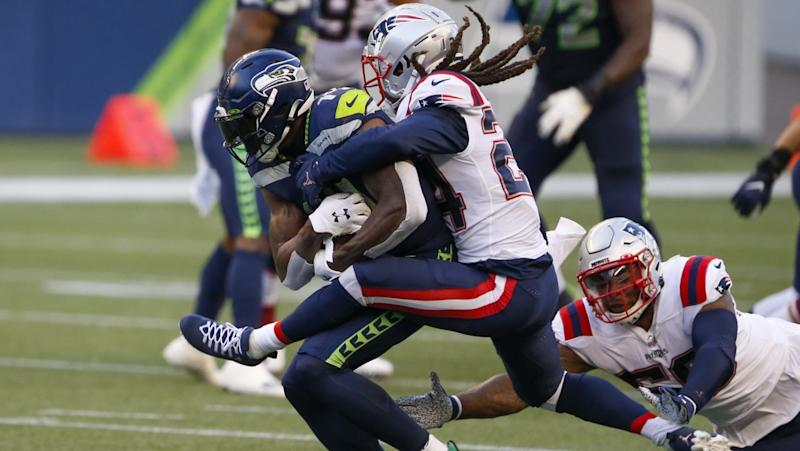 Pete Carroll: D.K. Metcalf vs. Stephon Gilmore was 'cool battle to watch'
