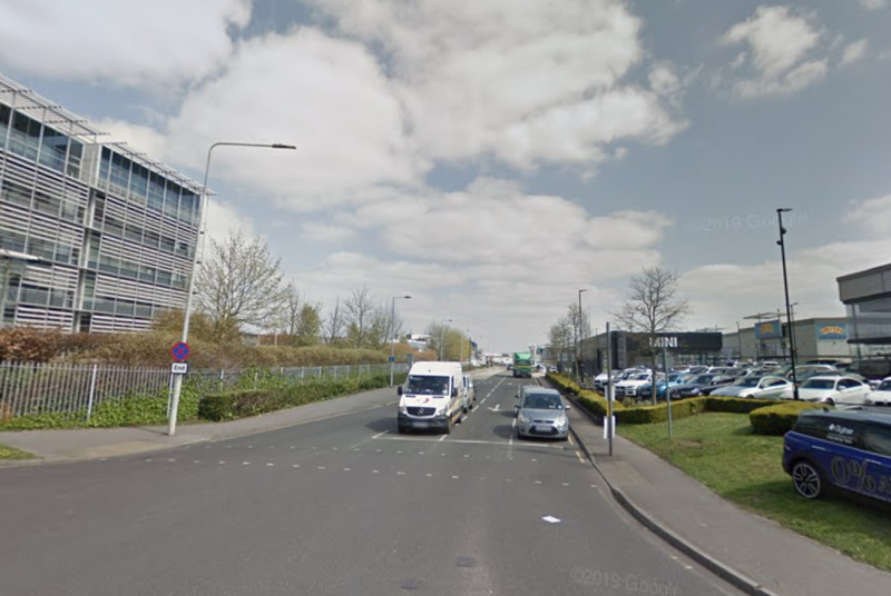 The 10-mile chase ended on Langston Road in north London. (Google)