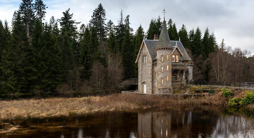 Gatelodge at Ardverikie Castle comes complete with its own fairytale turret (Ardverikie Castle)