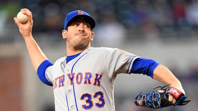 Former Mets ace Matt Harvey is ticketed for the bullpen after rough start to 2018 season. (AP)