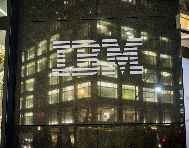 IBM building in New York