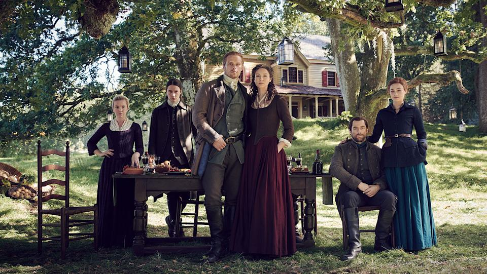 The fifth season of the time-travelling fantasy show – based on Diana Gabaldon's The Fiery Cross – aired weekly on Amazon Prime.