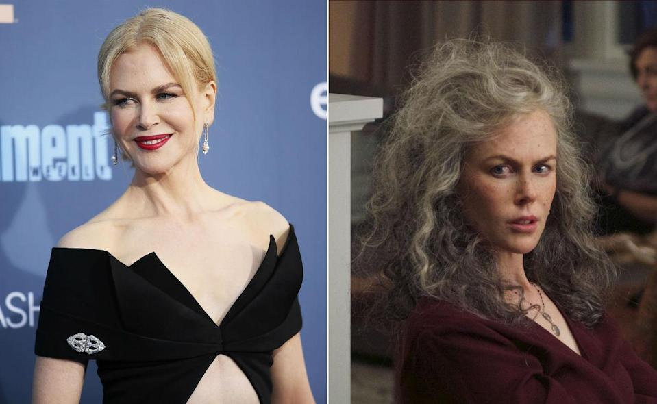 <p>That grey barnet puts 20 years on Nicole Kidman, for the new series of Jane Campion's Top of the Lake. </p>