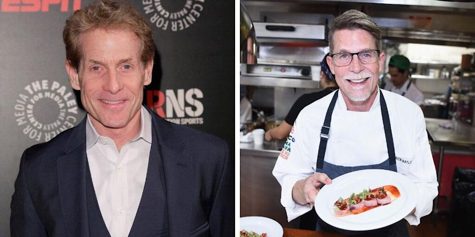 """Top Chef Masters"" winner and restaurateur Rick Bayless's older brother is sports journalist and television personality Skip Bayless."