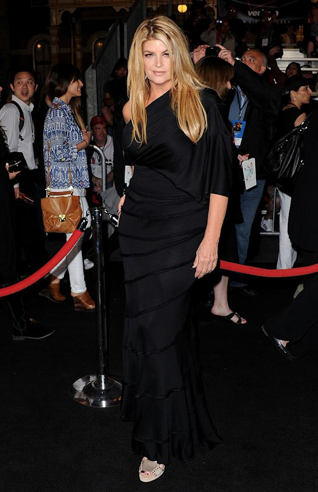 "Kristie Alley attends the Disneyland premiere of <a href=""http://movies.yahoo.com/movie/1809791042/info"">Pirates of the Caribbean: On Stranger Tides</a> on May 7, 2011."