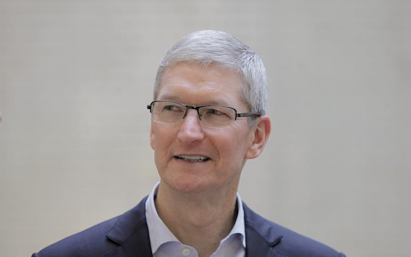 Tim Cook sold265,000 Apple shares, according to a US regulatory filing, netting the Apple boss tens of millions of dollars - Jane Mingay