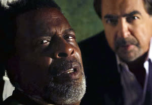 Meshach Taylor and Joe Mantegna | Photo Credits: CBS